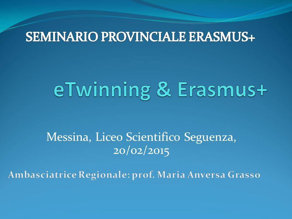 Messina, Liceo Scientifico Seguenza, 20/02/2015