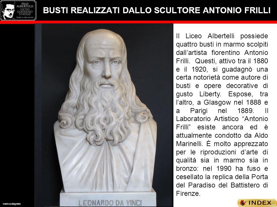 BUSTI REALIZZATI DALLO SCULTORE ANTONIO FRILLI