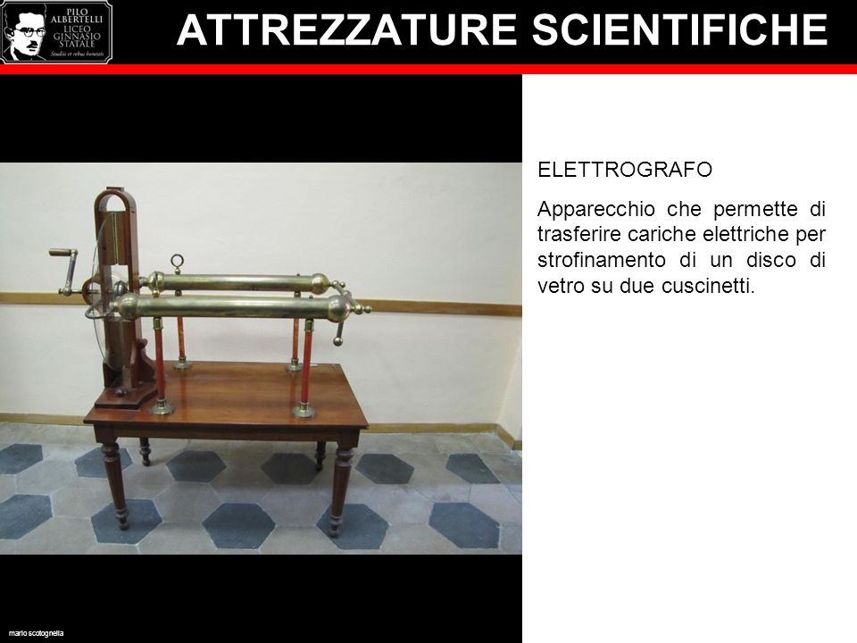 ATTREZZATURE SCIENTIFICHE