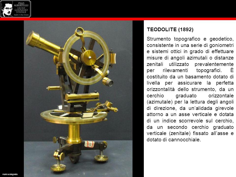 TEODOLITE (1892)