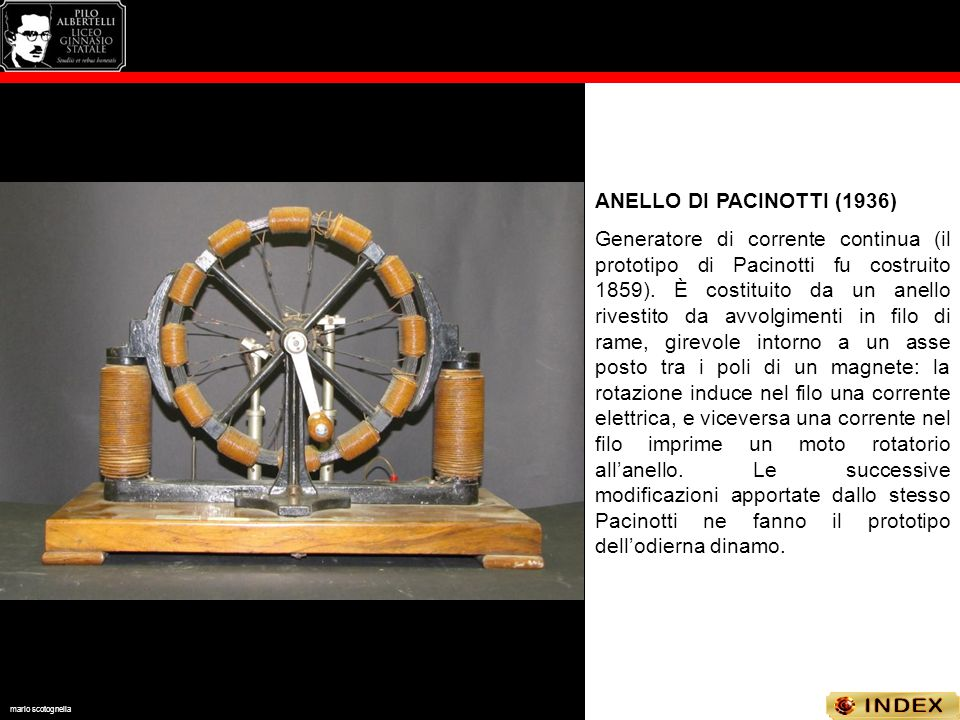ANELLO DI PACINOTTI (1936)