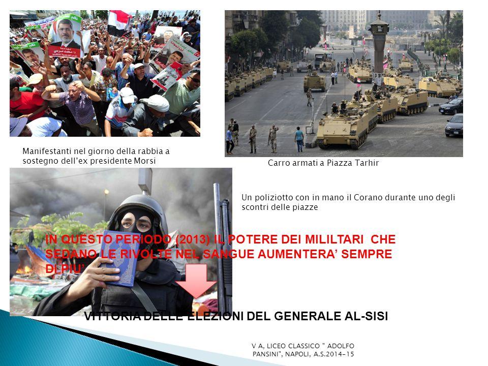 VITTORIA DELLE ELEZIONI DEL GENERALE AL-SISI