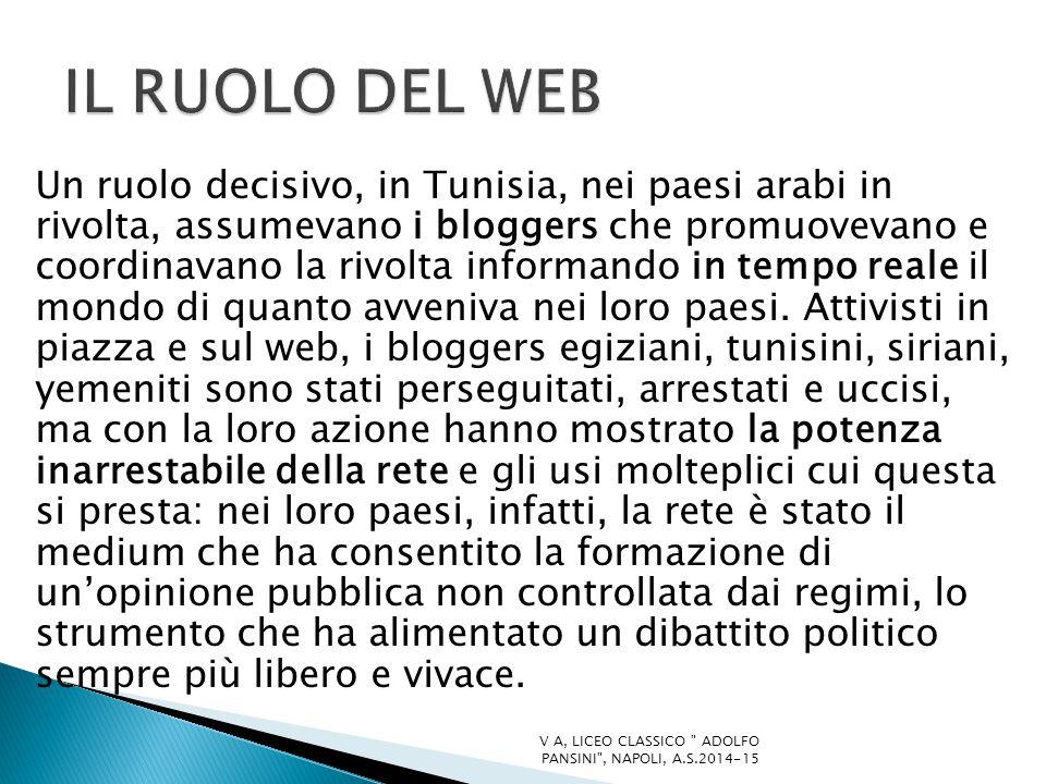 IL RUOLO DEL WEB