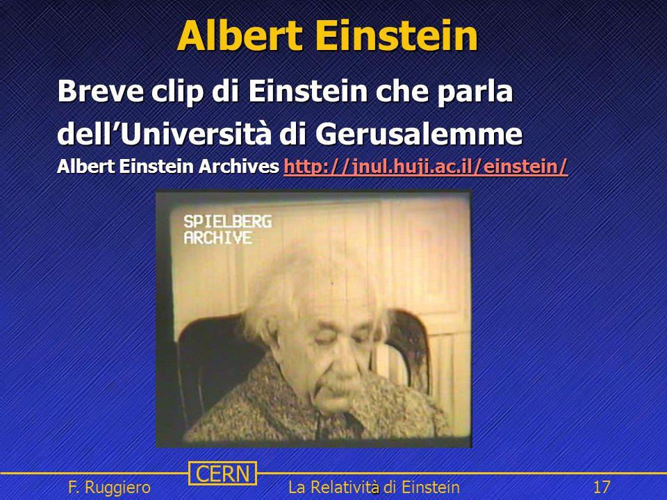 La Relatività di Einstein