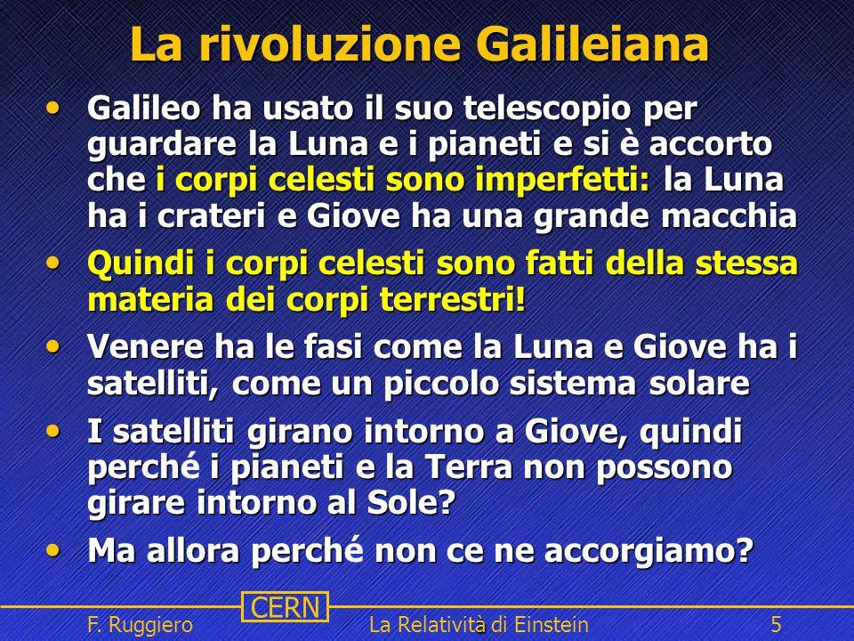 La rivoluzione Galileiana