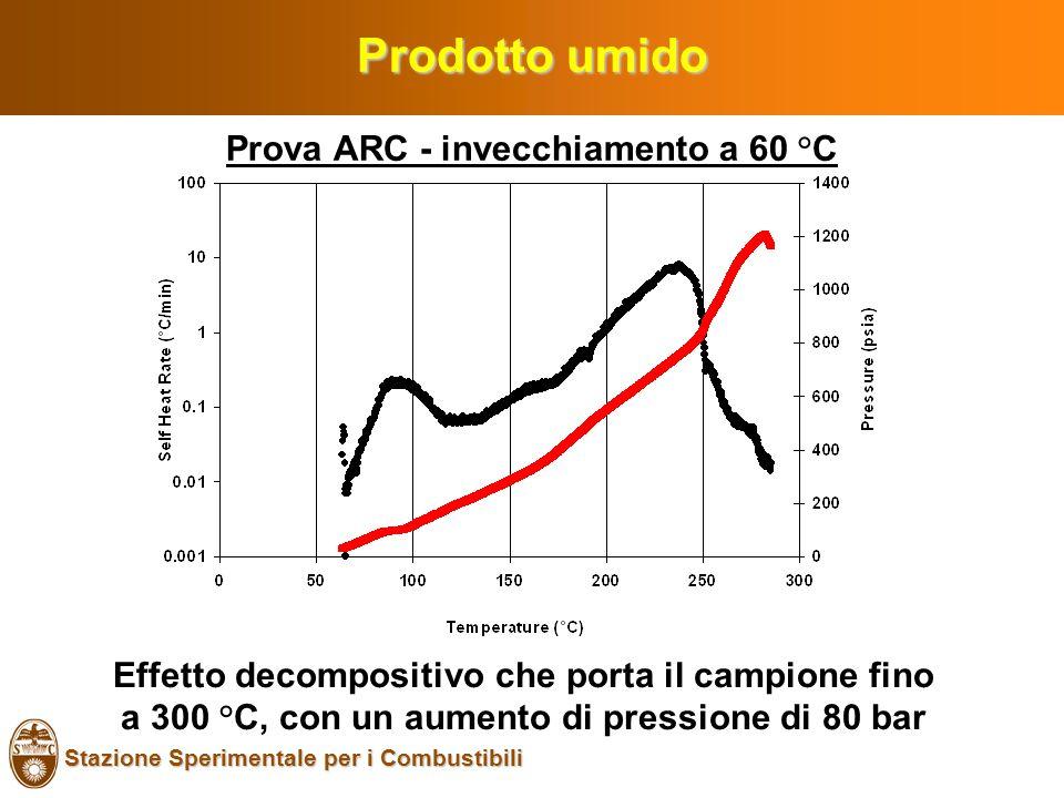 Prova ARC - invecchiamento a 60 °C