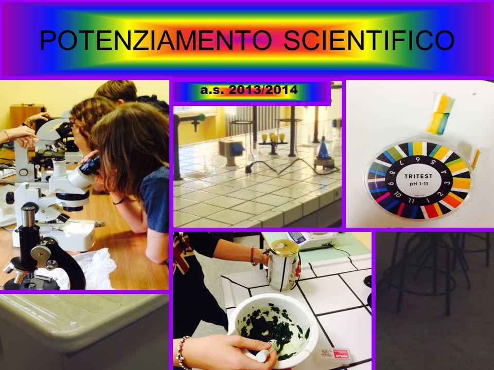 POTENZIAMENTO SCIENTIFICO
