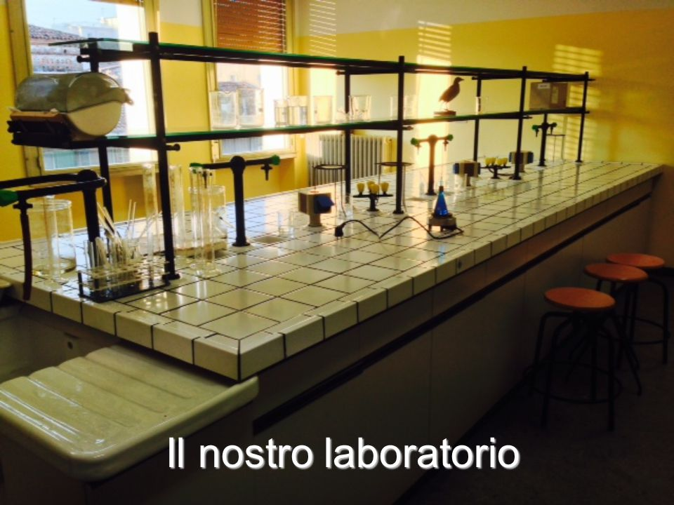 Il nostro laboratorio