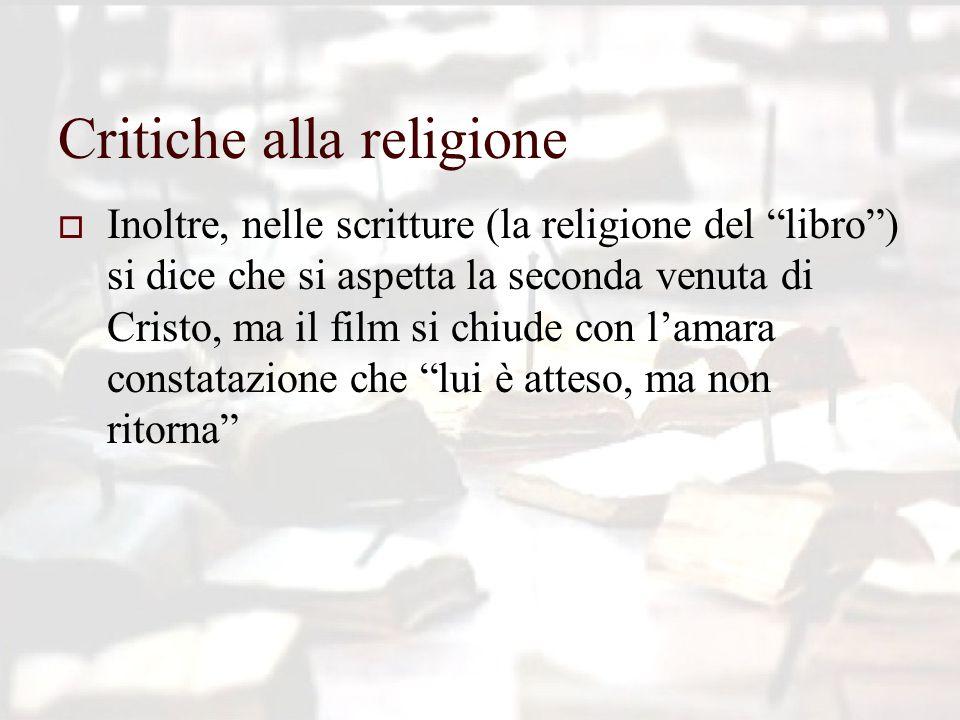 Critiche alla religione