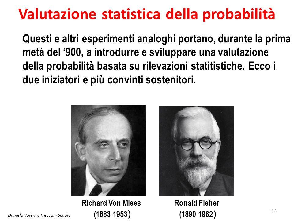 Valutazione statistica della probabilità