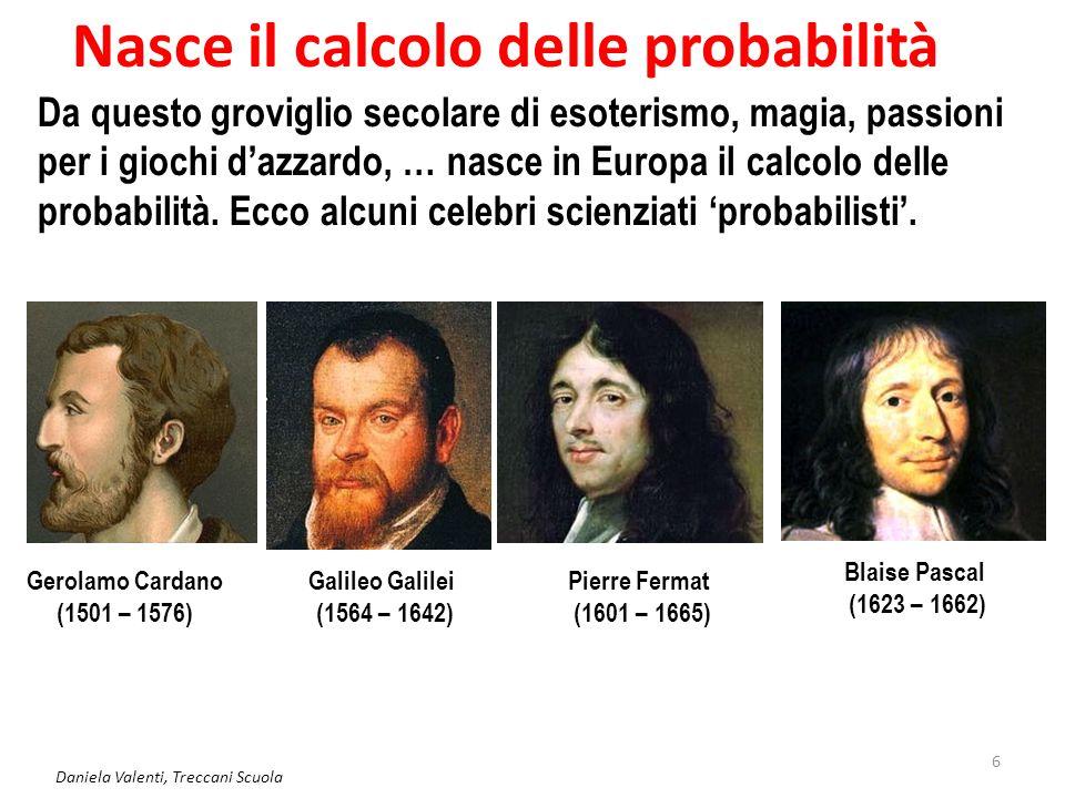 Nasce il calcolo delle probabilità
