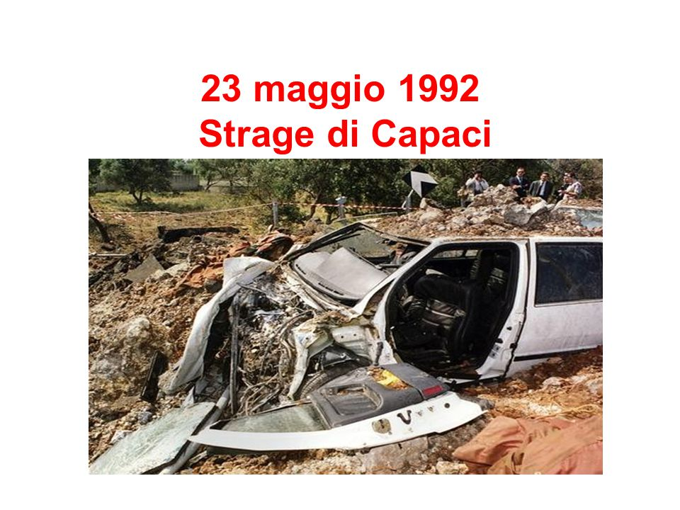 23 maggio 1992 Strage di Capaci