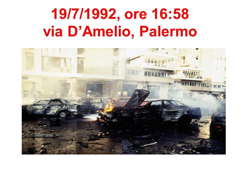 19/7/1992, ore 16:58 via D'Amelio, Palermo