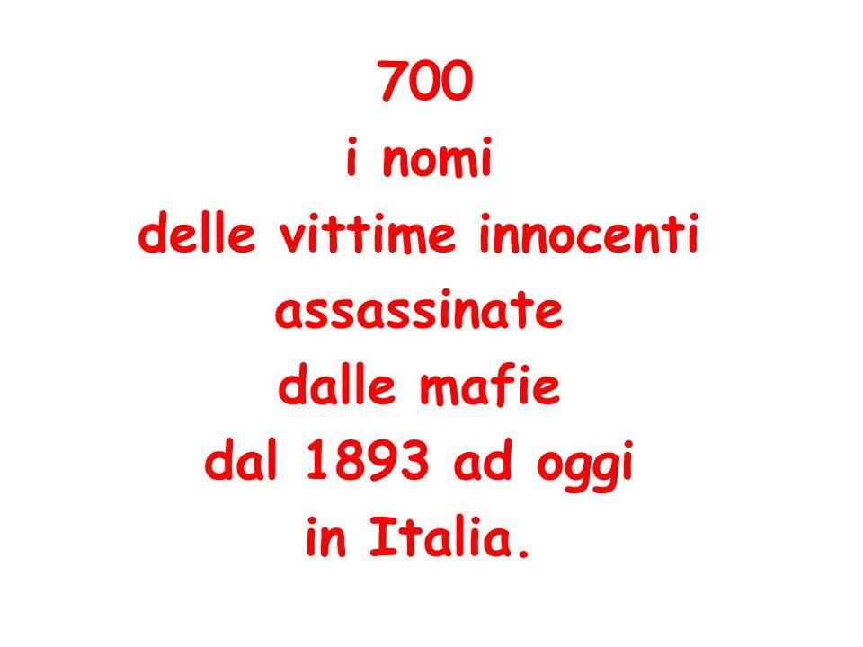 delle vittime innocenti