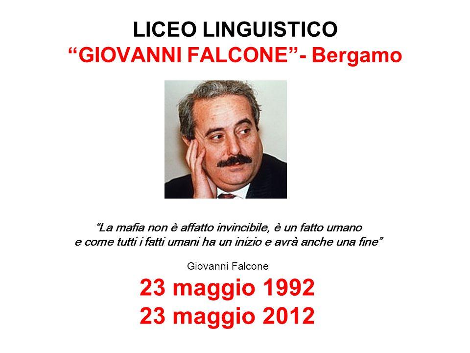 LICEO LINGUISTICO GIOVANNI FALCONE - Bergamo