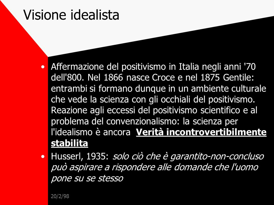 Visione idealista