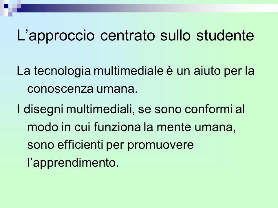 L'approccio centrato sullo studente