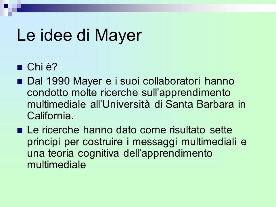 Le idee di Mayer Chi è