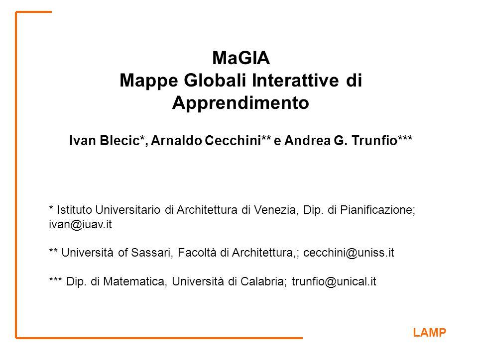 MaGIA Mappe Globali Interattive di Apprendimento