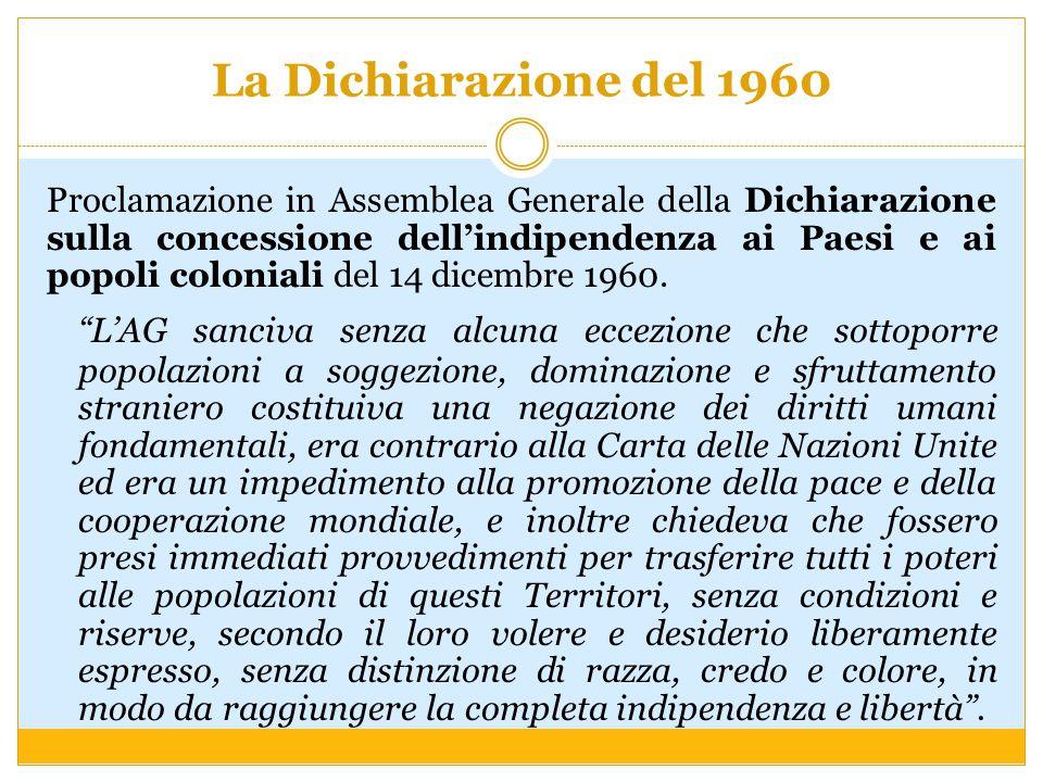La Dichiarazione del 1960