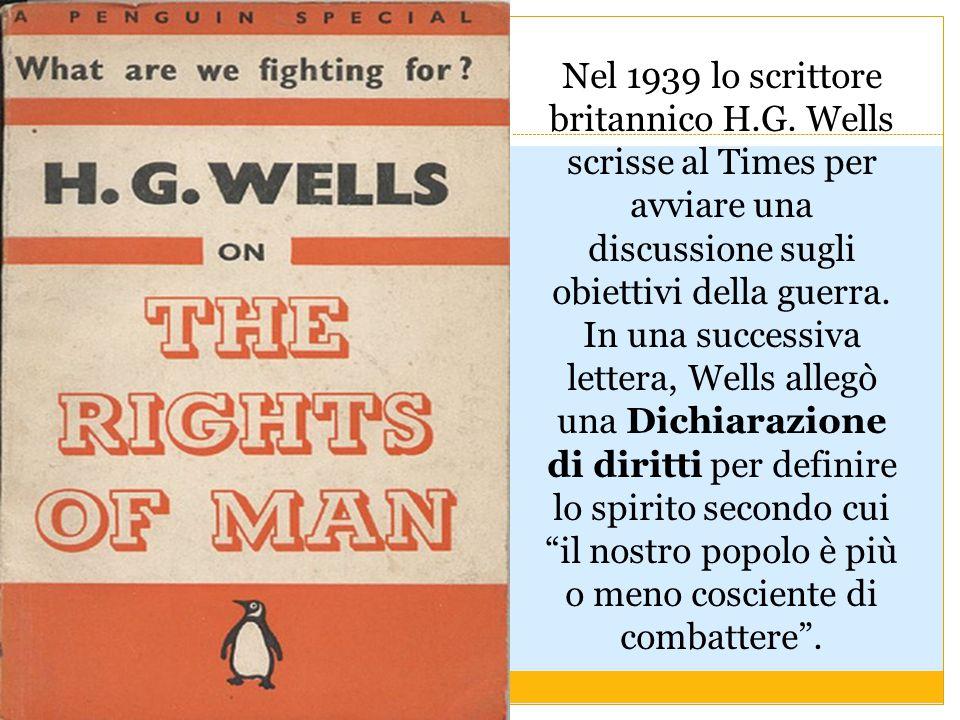 Nel 1939 lo scrittore britannico H. G
