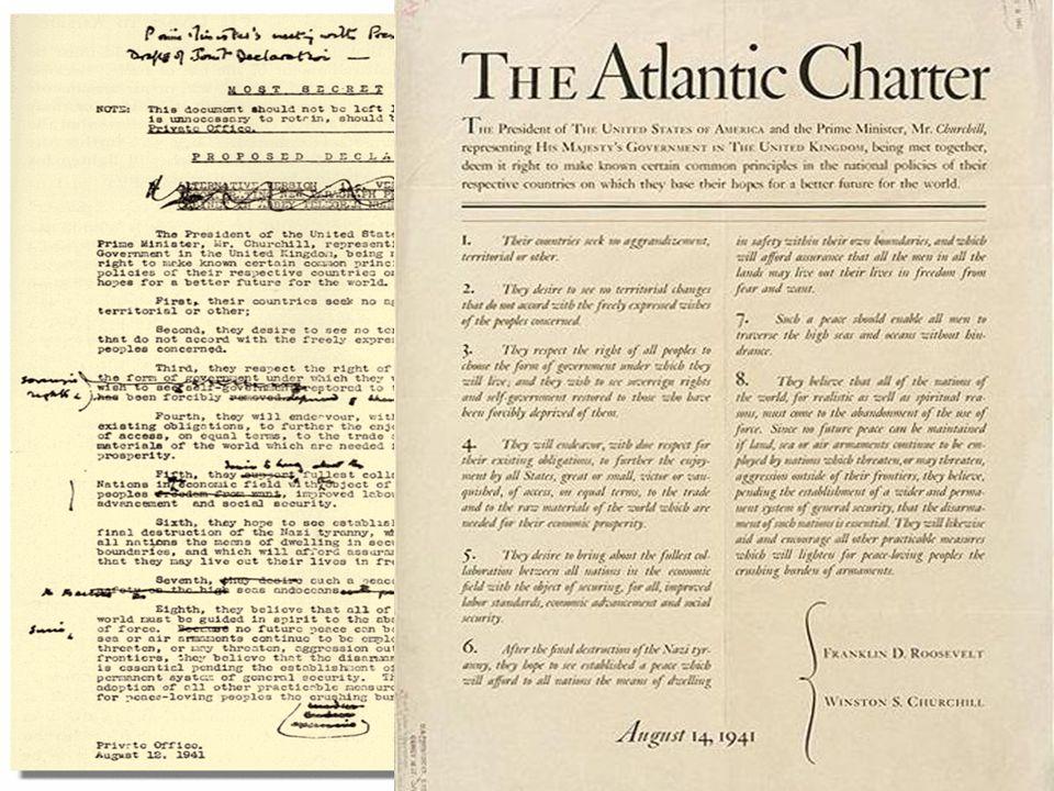 Carta Atlantica, 14 agosto 1941