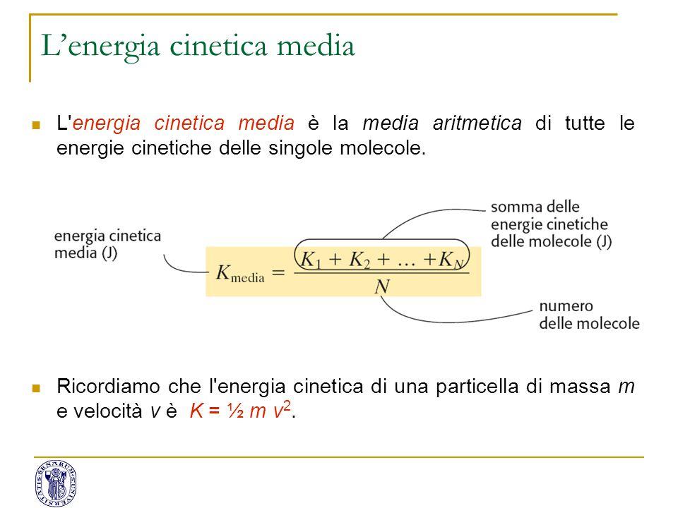 L'energia cinetica media