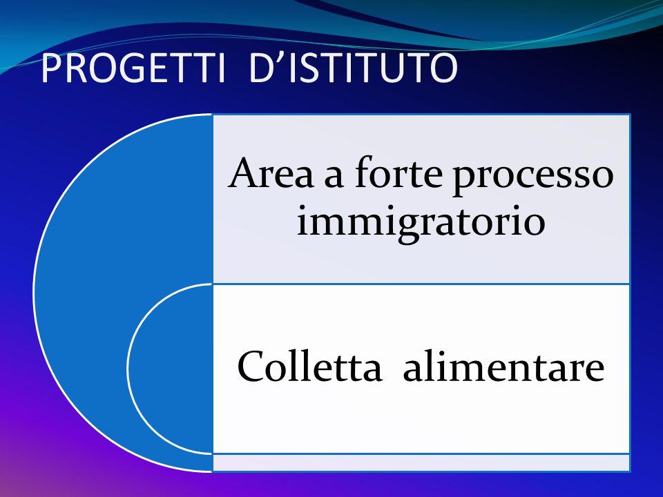 Area a forte processo immigratorio