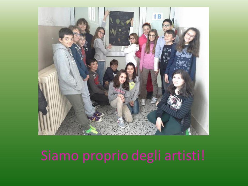 Siamo proprio degli artisti!