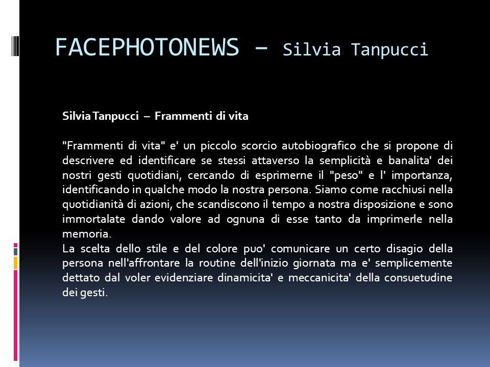 FACEPHOTONEWS – Silvia Tanpucci