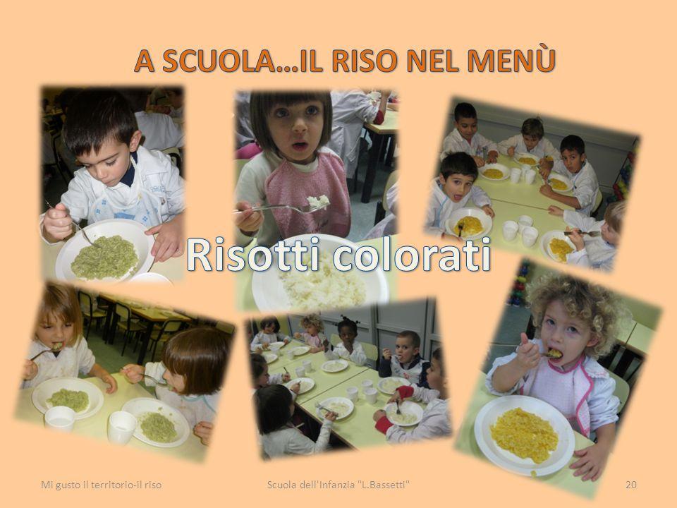 A scuOLA…il riso nel menù
