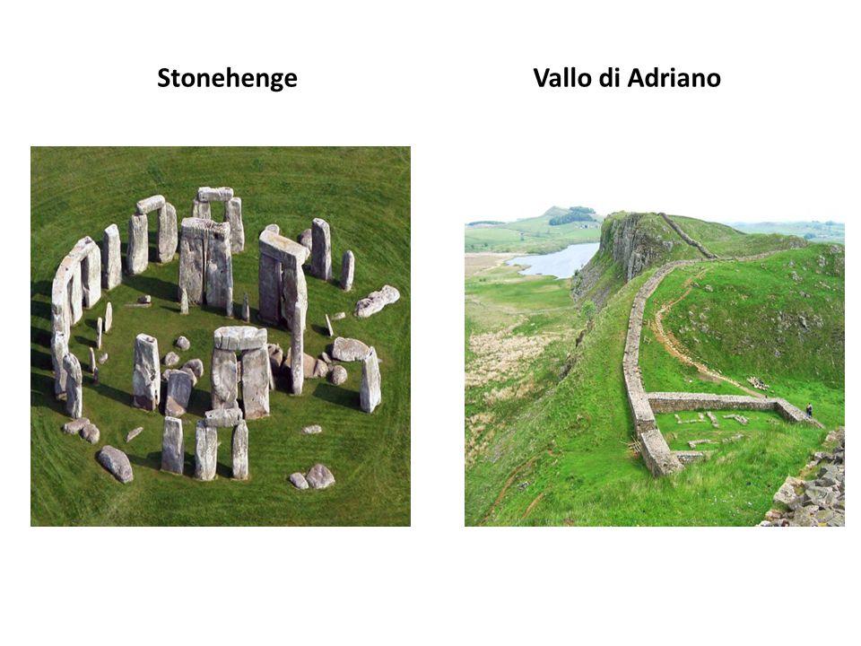 Stonehenge Vallo di Adriano