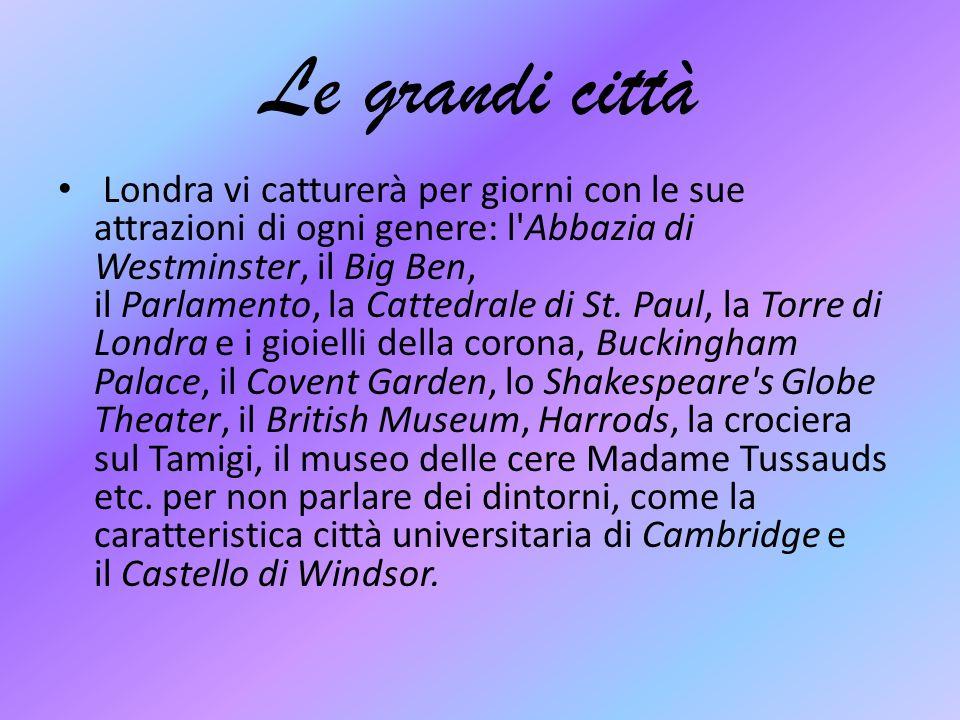 Le grandi città