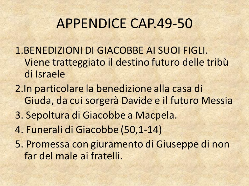 APPENDICE CAP.49-50