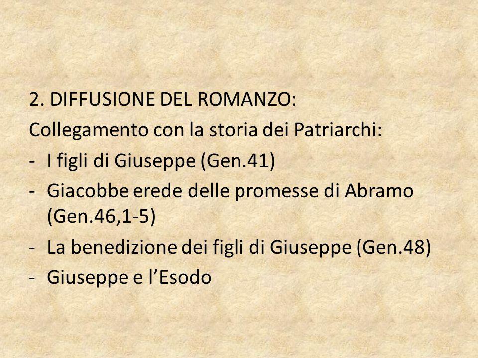 2. DIFFUSIONE DEL ROMANZO: