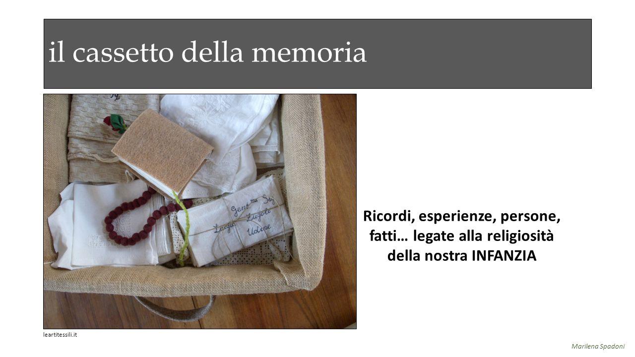 il cassetto della memoria