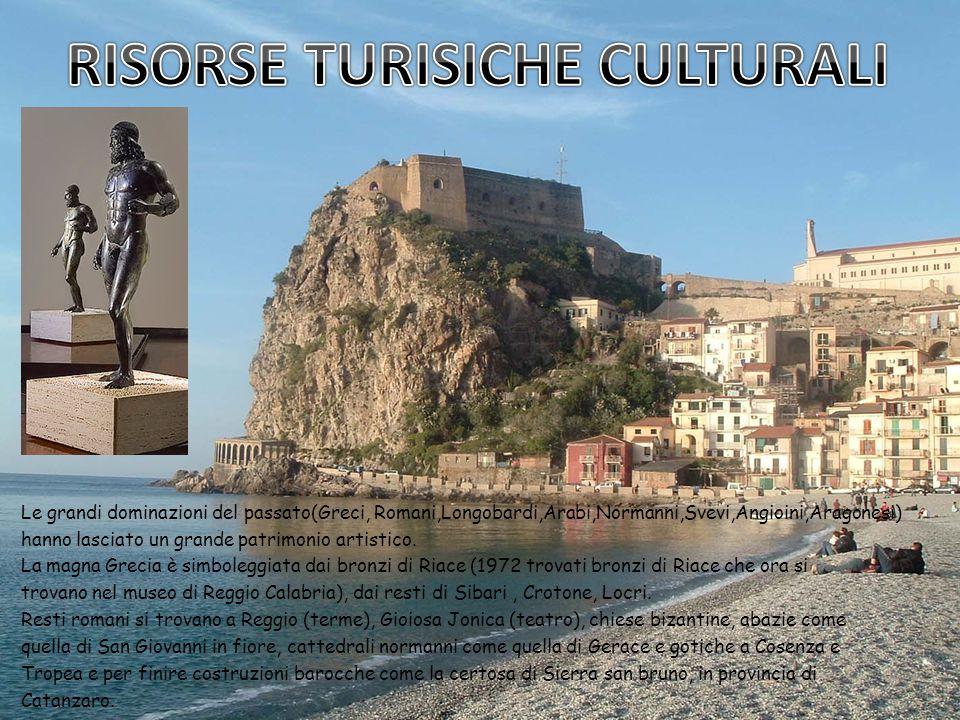 RISORSE TURISICHE CULTURALI