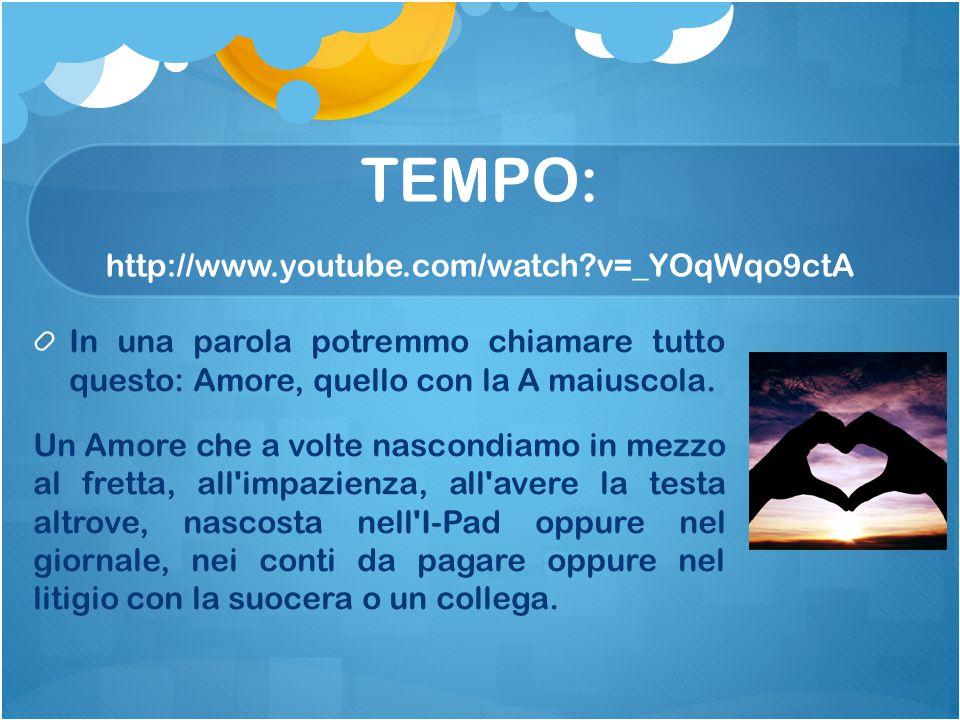 TEMPO: http://www.youtube.com/watch v=_YOqWqo9ctA