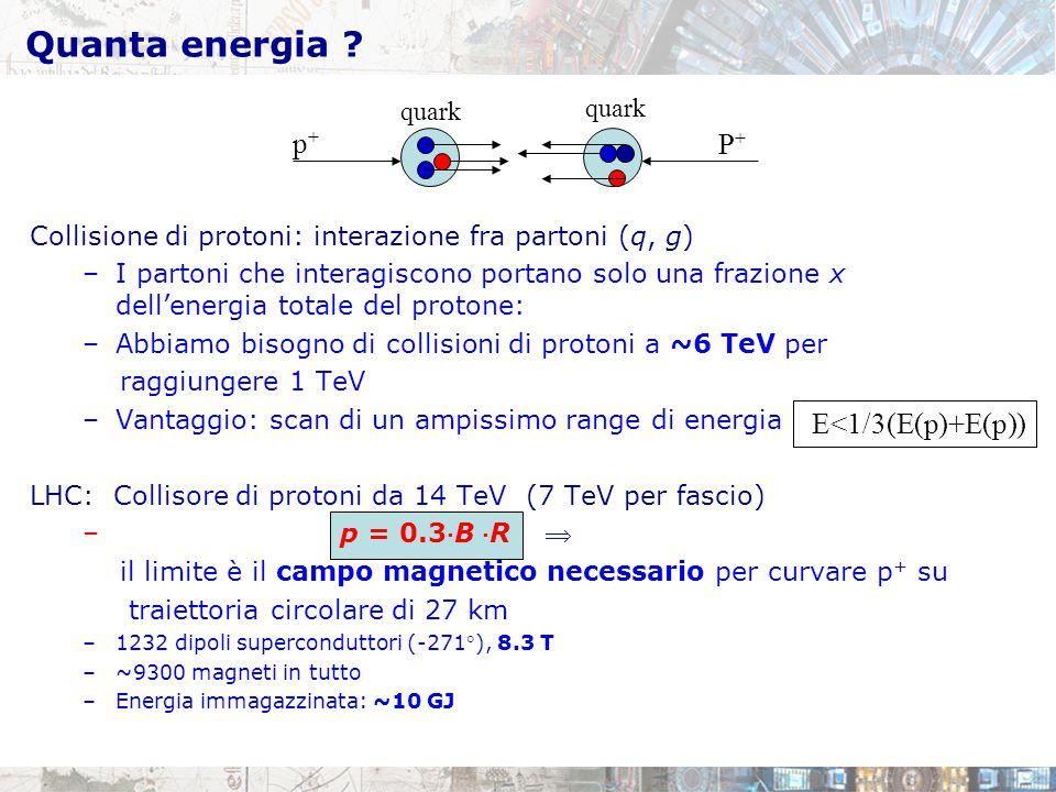 Quanta energia p+ P+ E<1/3(E(p)+E(p)) quark