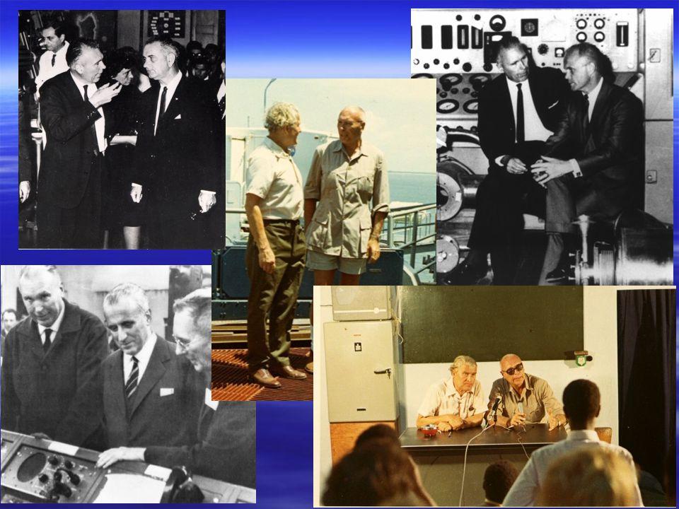 Von Braun visita Malindi nel 1971