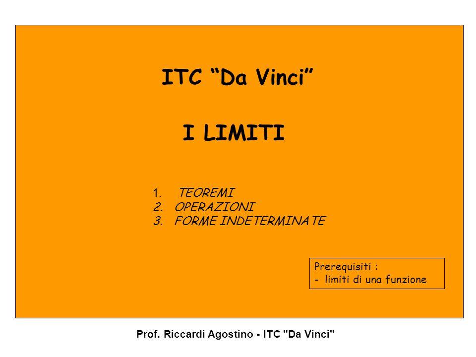 Prof. Riccardi Agostino - ITC Da Vinci