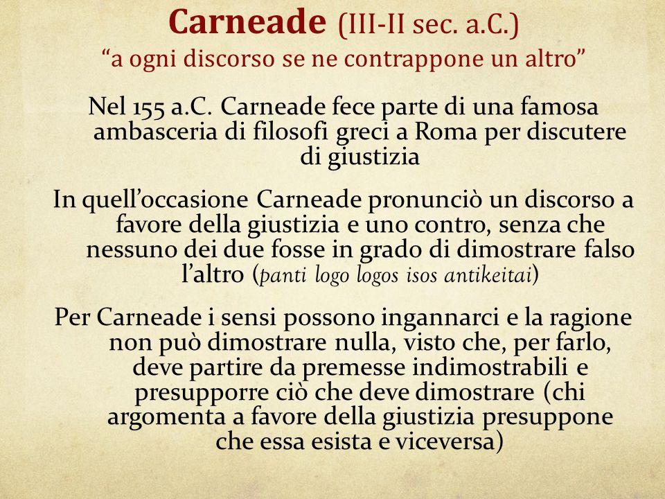 Carneade (III-II sec. a. C