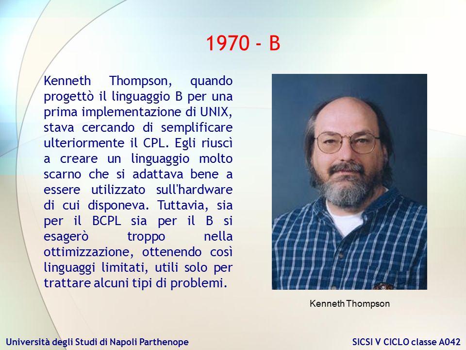 1970 - B
