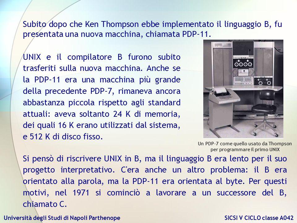 Un PDP-7 come quello usato da Thompson per programmare il primo UNIX