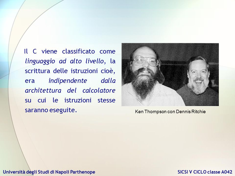 Ken Thompson con Dennis Ritchie