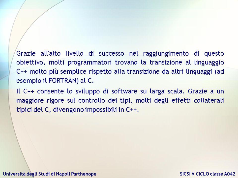 Grazie all alto livello di successo nel raggiungimento di questo obiettivo, molti programmatori trovano la transizione al linguaggio C++ molto più semplice rispetto alla transizione da altri linguaggi (ad esempio il FORTRAN) al C.