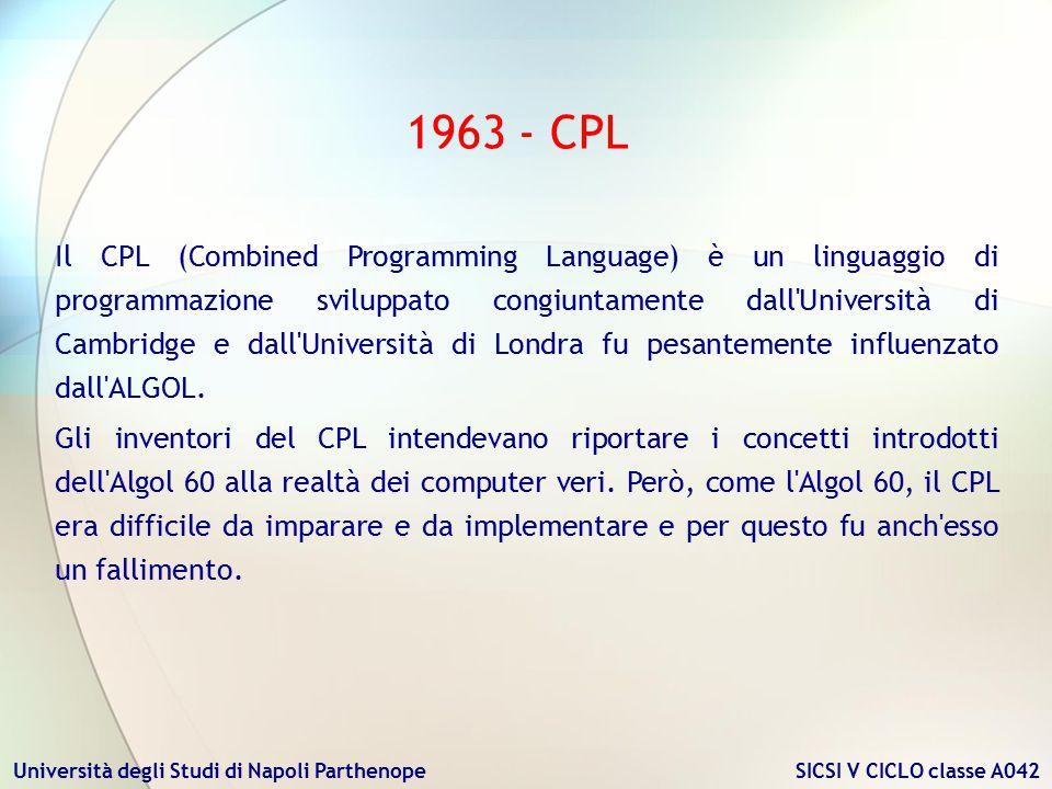 1963 - CPL