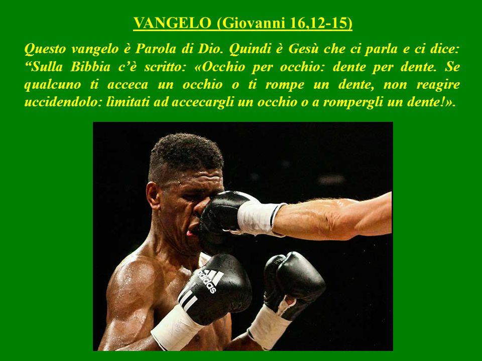 VANGELO (Giovanni 16,12-15)