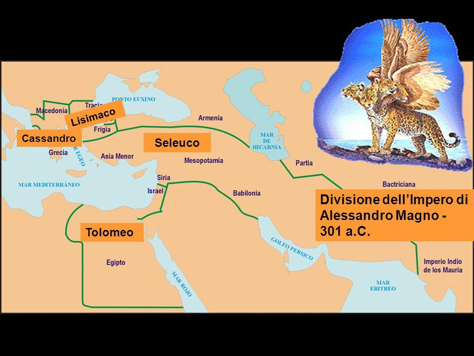 Divisione dell'Impero di Alessandro Magno - 301 a.C.