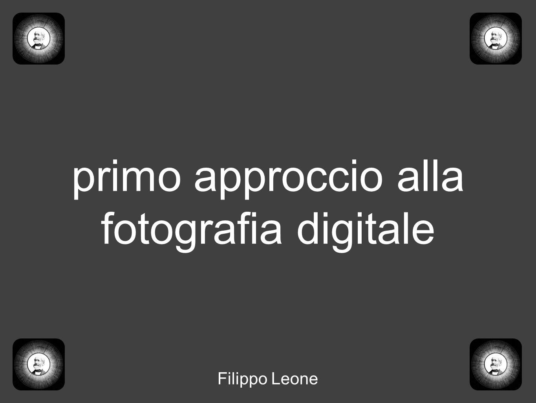 primo approccio alla fotografia digitale